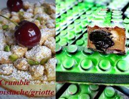 Tarte croustillante aux pistaches et cerises1